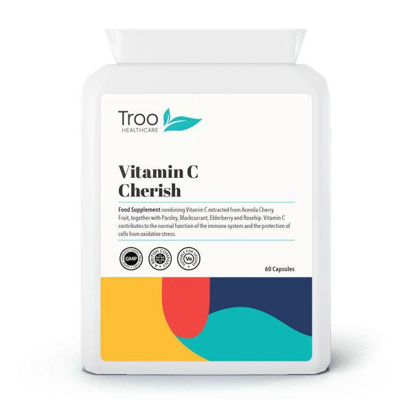 vitamin c food form 60 capsules