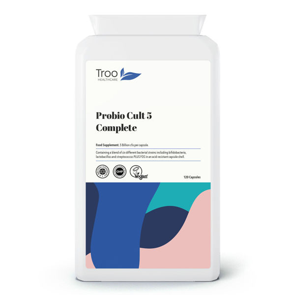Picture of Probio Cult-5 Complete 5 Billion CFU 120 Capsules