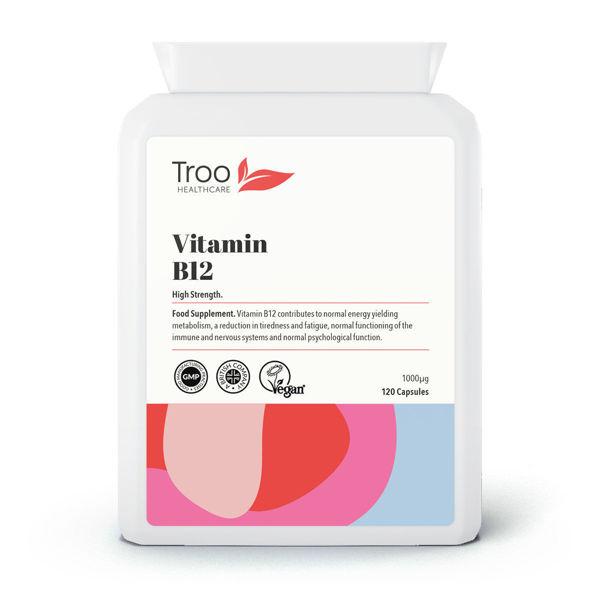 Picture of Vitamin B12 Methylcobalamin 1mg 120 Capsules