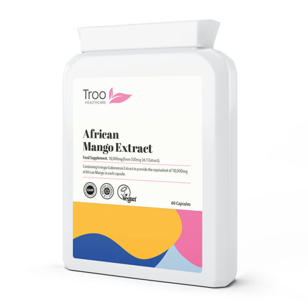 Picture of African Mango Extract 18000mg 60 Capsules