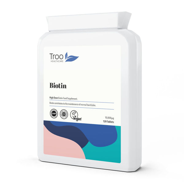 Picture of Biotin 10000µg 120 Tablets