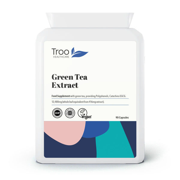 Picture of Green Tea 30:1 Extract 12480mg 90 Capsules