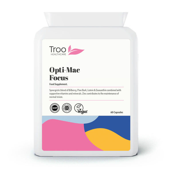 Picture of Opti-Mac Focus Eye Support 60 Capsules