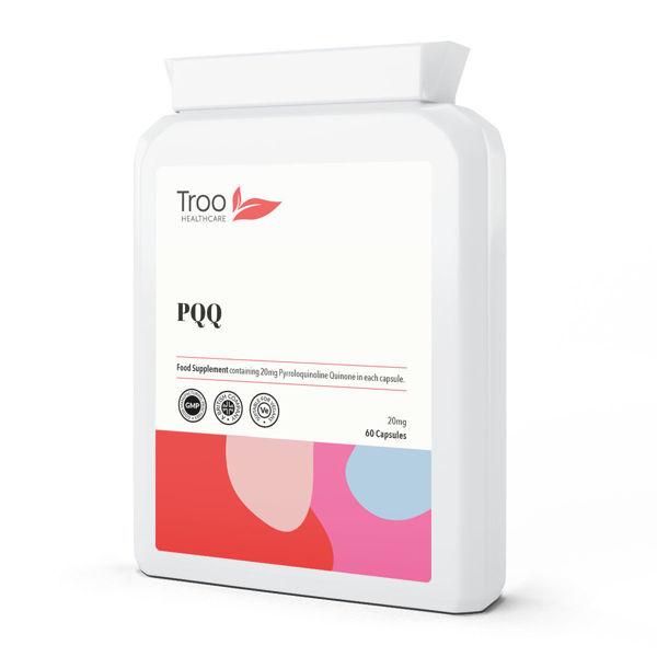 Picture of PQQ Pyrroloquinoline Quinone 20mg 60 Capsules