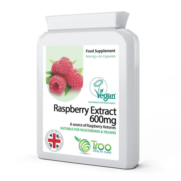 Picture of Raspberry Extract 600mg 60 Capsules