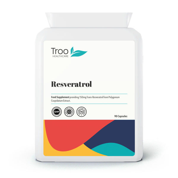 Picture of Resveratrol 150mg 90 Capsules