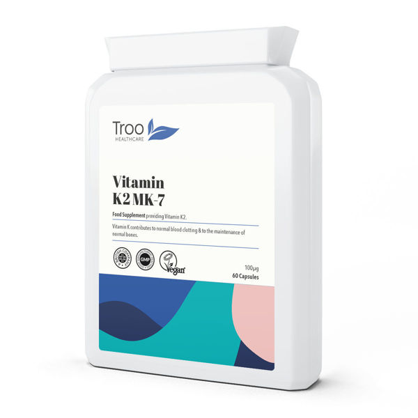 Picture of Vitamin K2 MK-7 100µg 60 Capsules