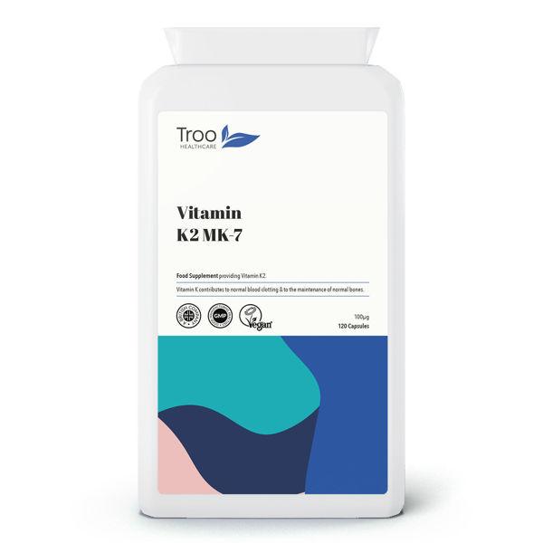 Picture of Vitamin K2 MK-7 100µg 120 Capsules