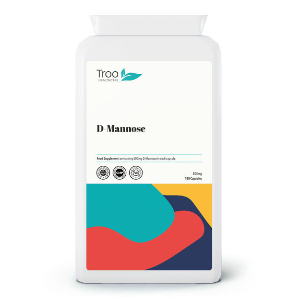 Picture of D-Mannose 500mg 180 Capsules