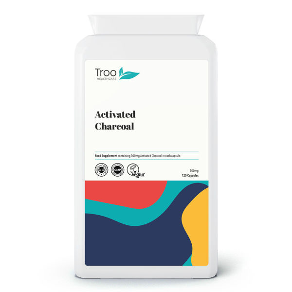 Picture of Activated Charcoal 300mg 120 Capsules