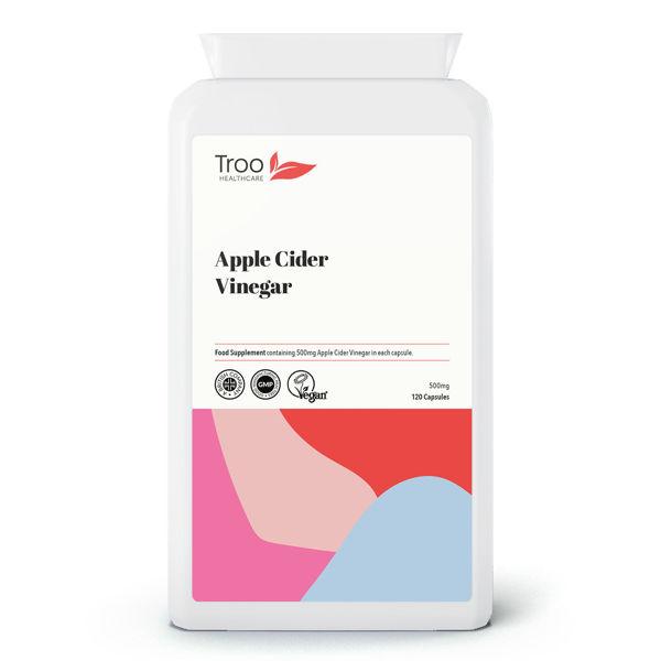 Picture of Apple Cider Vinegar 500mg 120 Capsules