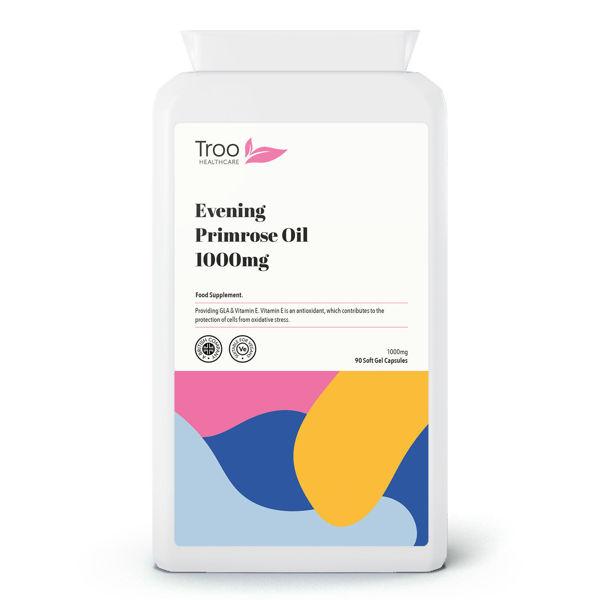 Picture of Evening Primrose Oil 1000mg 90 Vegan Softgel Capsules