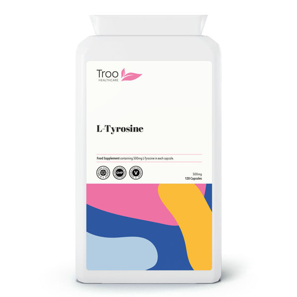 Picture of L-Tyrosine 500mg 120 Capsules
