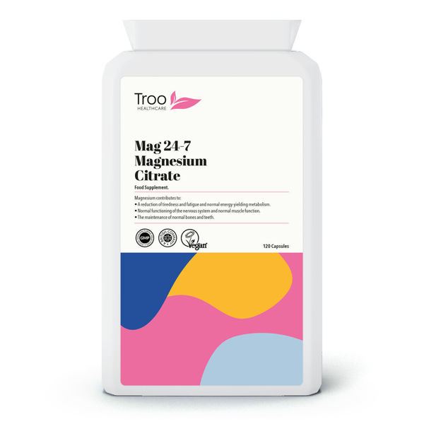 Picture of Mag 24-7 Magnesium Citrate 500mg 120 Capsules