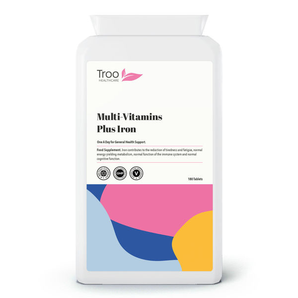 Picture of Multivitamin Plus Iron 180 Tablets