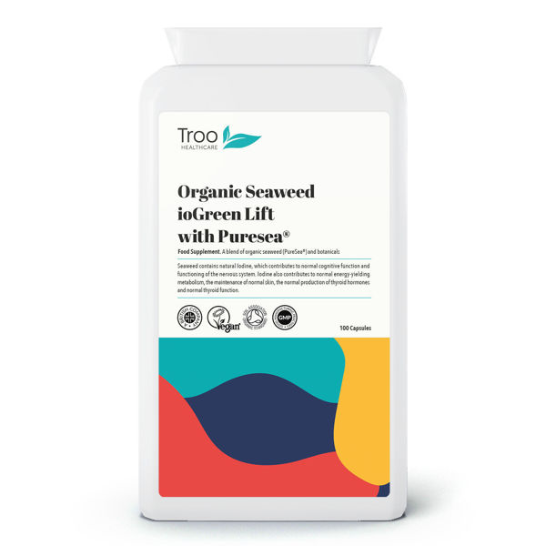Picture of Organic Seaweed ioGreen Lift with Puresea 100 Capsules