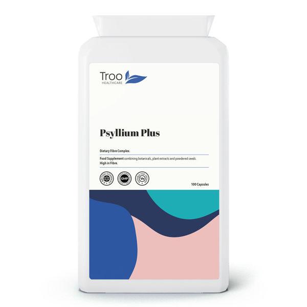 Picture of Psyllium Plus Dietary Fibre Complex 100 Capsules