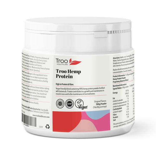 Picture of Troo-Hemp Hemp Protein Powder 500g