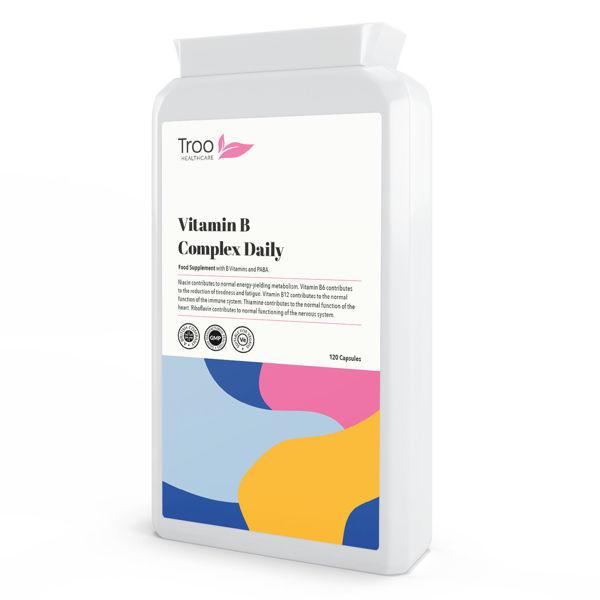 Picture of Vitamin B Complex Daily 120 Capsules