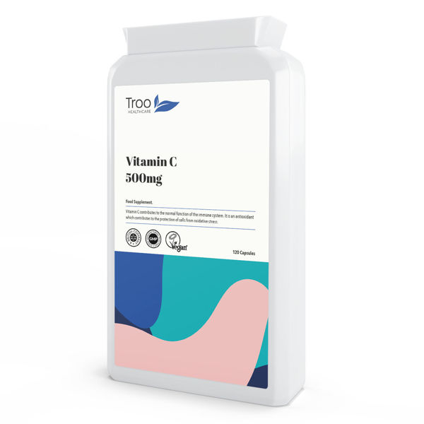 Picture of Vitamin C 500mg 120 Capsules
