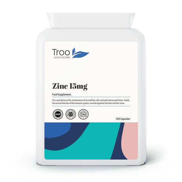 Picture of Zinc 15mg 120 Capsules