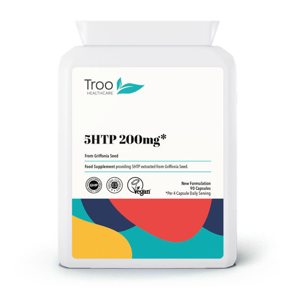5HTP 200mg Griffonia Seed Capsules
